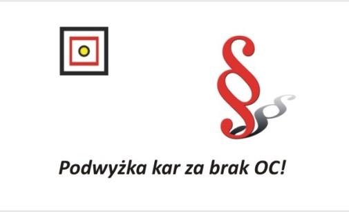 Podwyżka kar za brak OC!