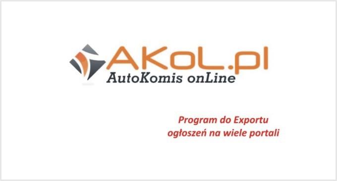 AKOL – eksport ogłoszeń