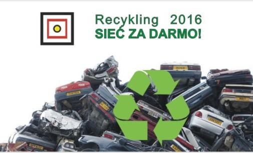 Recykling 2016 – Sieć za DARMO!