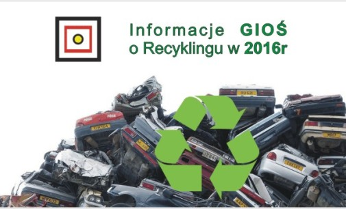 GIOŚ – o recyklingu w 2016 roku!