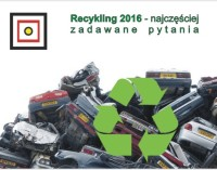 Recykling 2016 – najczęściej zadawane pytania