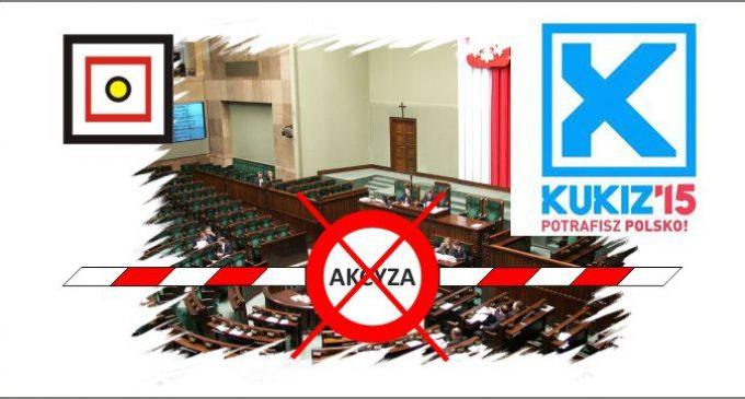 KUKIZ'15 chce zniesienia akcyzy!