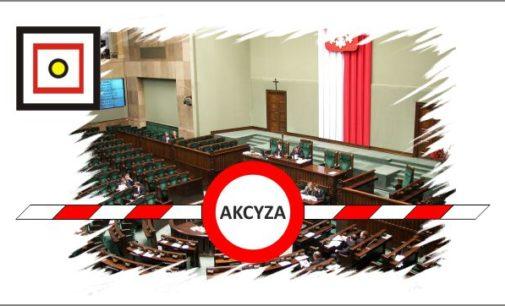 Uwaga Ważny komunikat! Rząd pracuje nad projektem ustawy zmieniającym Akcyzę!