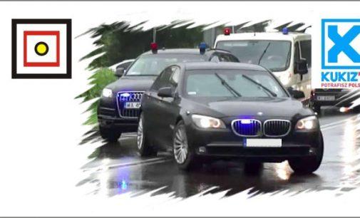 Mniej pojazdów uprzywilejowanych – Projekt KUKIZ'15