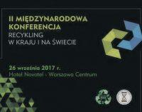 """FORS – II Międzynarodowa Konferencja """"RECYKLING POJAZDÓW W KRAJU I NA ŚWIECIE"""""""