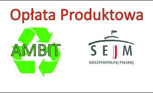 Opłata Produktowa – rozpatrzenie petycji AMBITu.