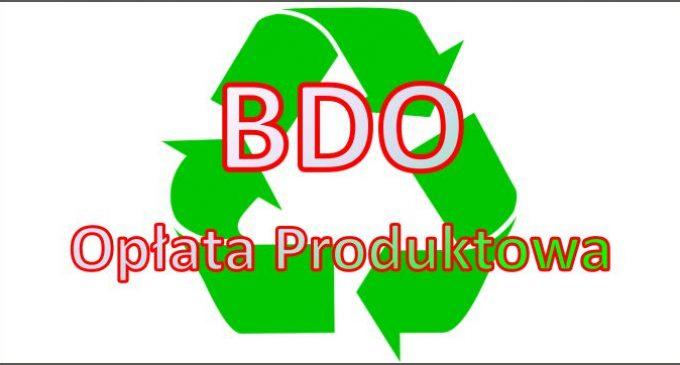 Opłata Produktowa – Stanowisko Ministerstwa Środowiska