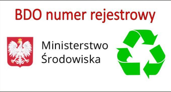 BDO – gdzie i jak mamy używać numeru rejestrowego.
