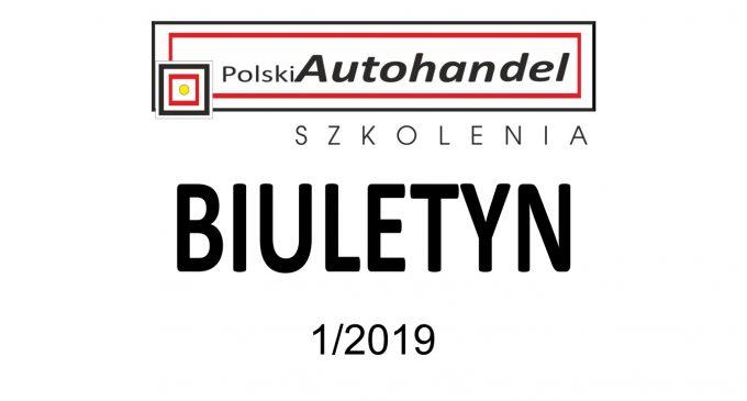 PolskiAutohandel.pl Szkolenia – BIULETYN 1/2019