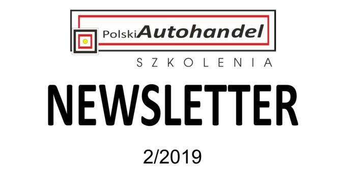 PolskiAutohandel.pl Szkolenia – NEWSLETTER 2/2019