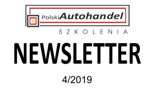 PolskiAutohandel.pl Szkolenia – NEWSLETTER 4/2019