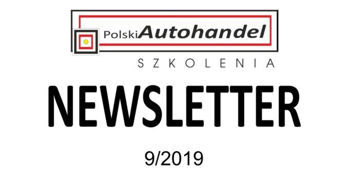 PolskiAutohandel.pl Szkolenia – NEWSLETTER 9/2019