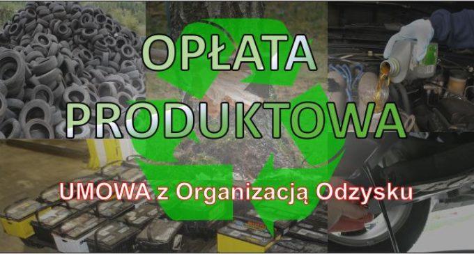Opłata Produktowa – warunki współpracy z Organizacją Odzysku