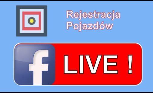 Zapraszam na Live na Facebooku!
