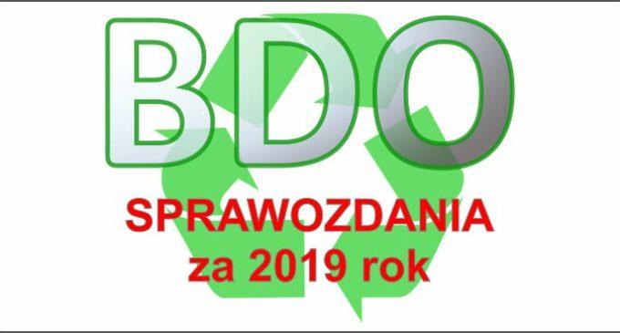 BDO – UWAGA! Zmiana terminów sprawozdań za 2019 rok.