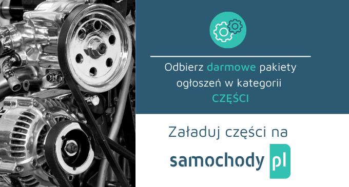 Części na portalu Samochody.pl