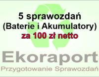 Sprawozdania Baterie i Akumulatory