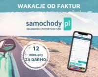 Samochody.pl przedłuża wakacje od faktur!