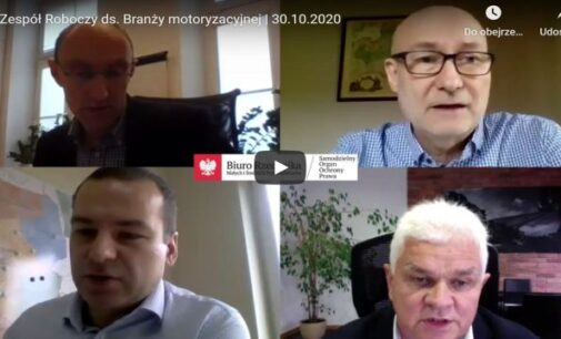 Posiedzenie Zespołu Roboczego ds. Branży Motoryzacyjnej – Kary za przeglądy 30 dni po terminie.